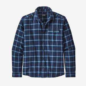 Men's Fjord Flannel Shirt - Navy