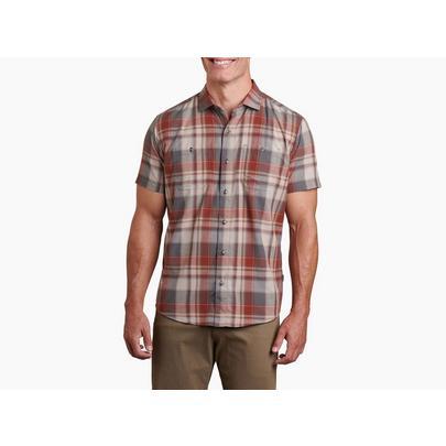 Kuhl Men's Styk Short-Sleeved Shirt - Campfire Red