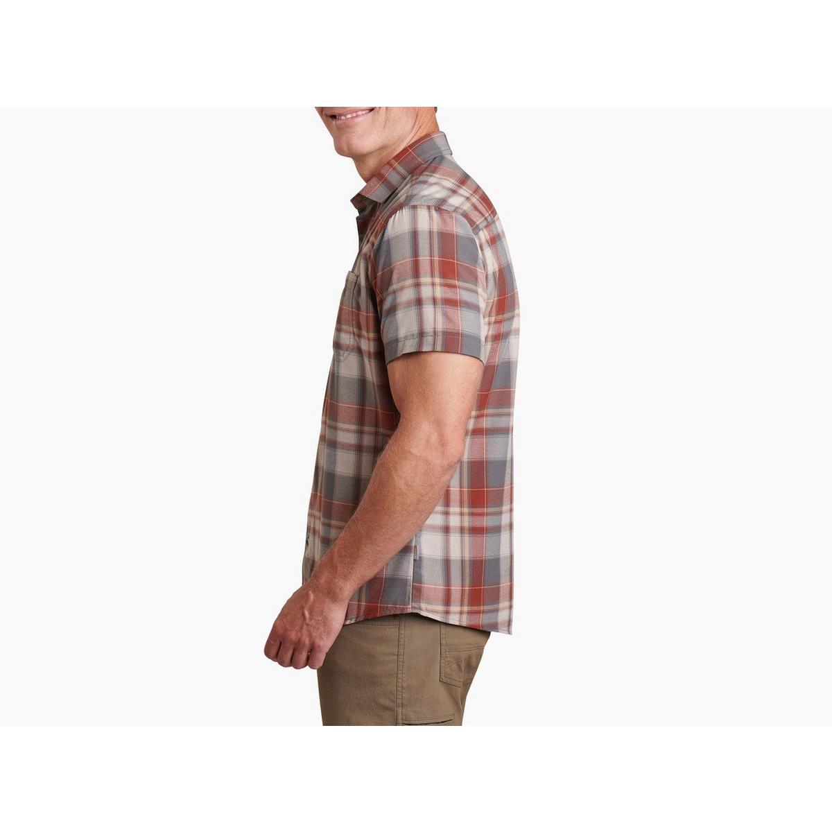 Kuhl Men's Kuhl Styk Short Sleeved Shirt - Red