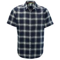 Men's Flaxton Short Sleeved Shirt - Navy