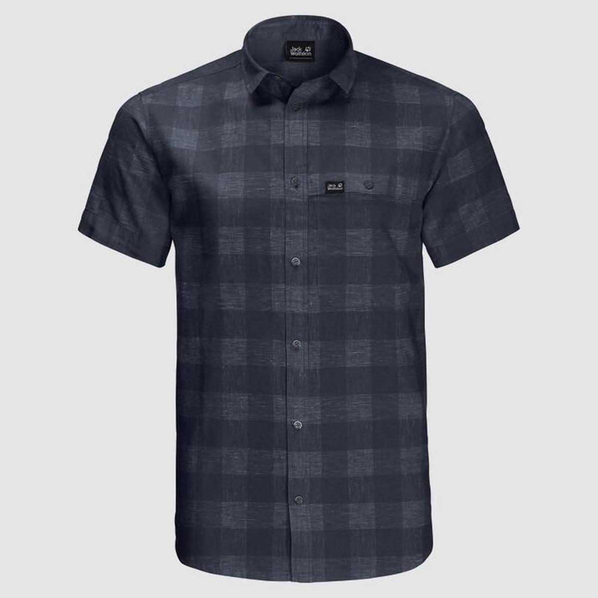Jack Wolfskin Men's Highlands Shirt - Blue