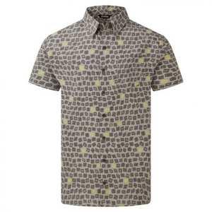 Men's Doori Print SS Shirt - Grey