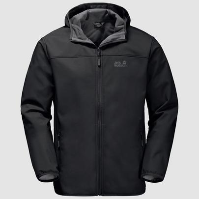 Jack Wolfskin Men's Northern Point Jacket - Black