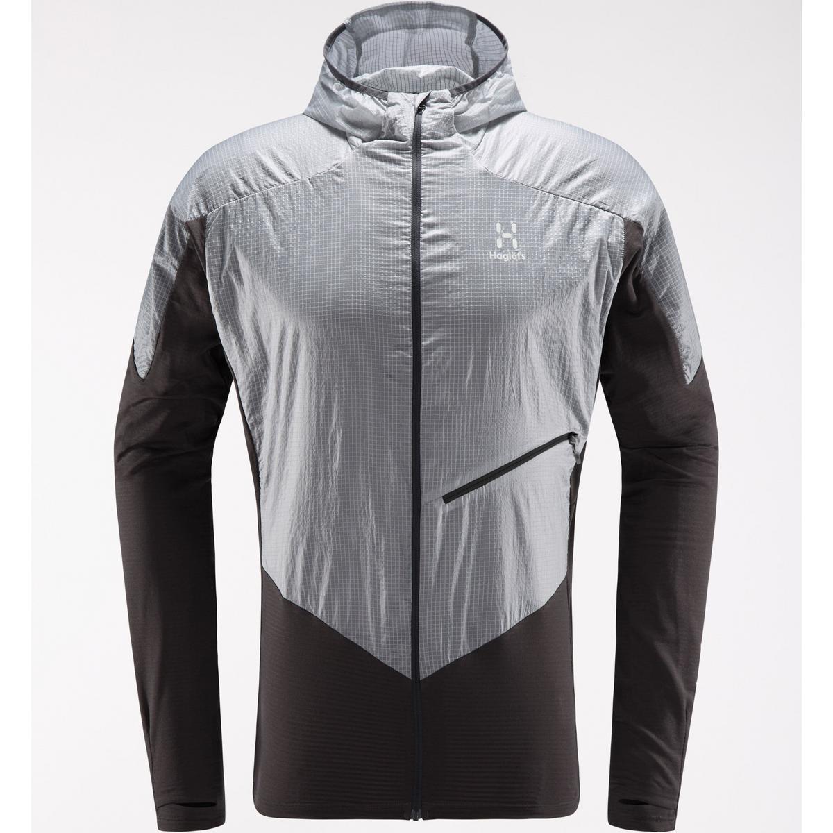 Haglofs Men's LIM Hybrid Hood - Slate Stone Grey