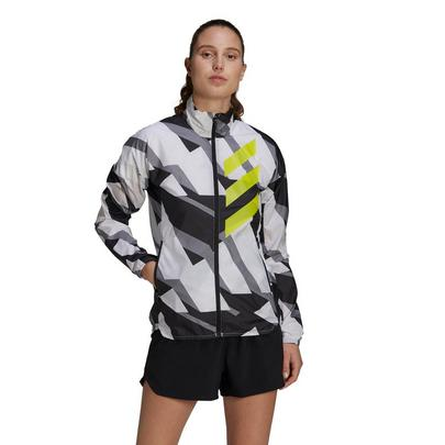 adidas Terrex Women's Agravic Windbreaker - White