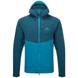 Men's Mantle Hooded Jacket - Blue