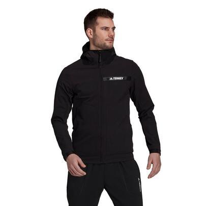 Adidas Men's Terrex Multi-Stretch Softshell Jacket - Black