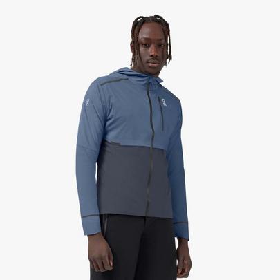 On Men's Weather Jacket - Blue