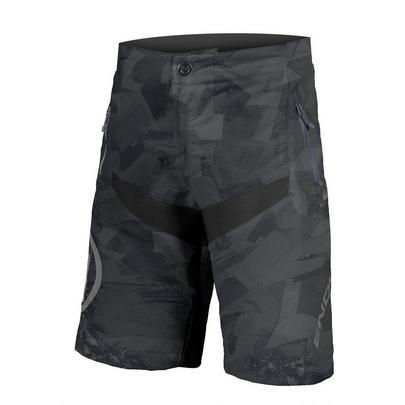 Endura Kid's MT500JR Baggy Short With Liner - Black Camo