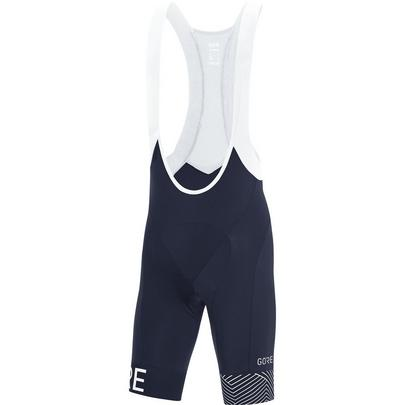 Gore Men's C5 Opti Bib Shorts + Navy/White