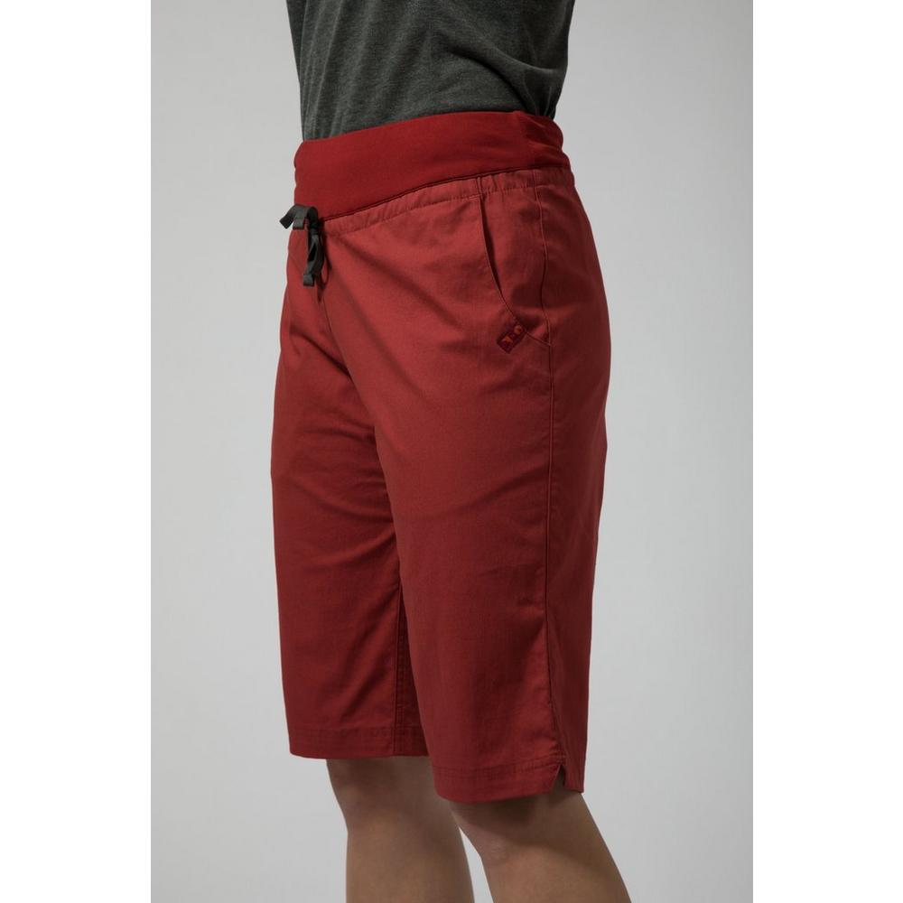 Montane Women's On-Sight Shorts - Red