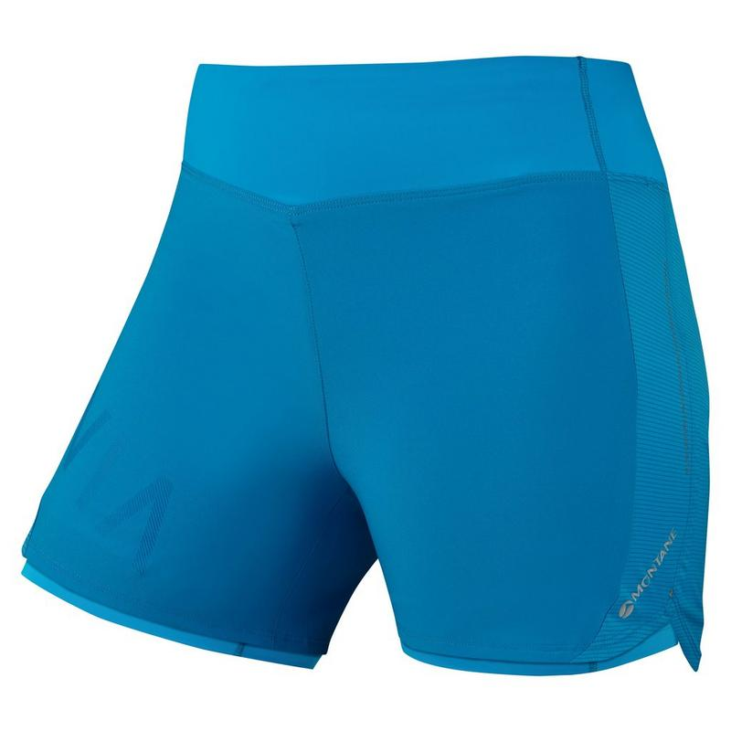 Women's Katla Twin Skin Shorts - Blue