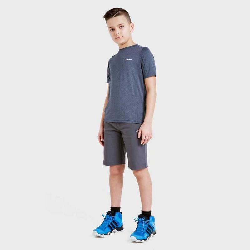 Kids Berghaus Walking Shorts - Grey
