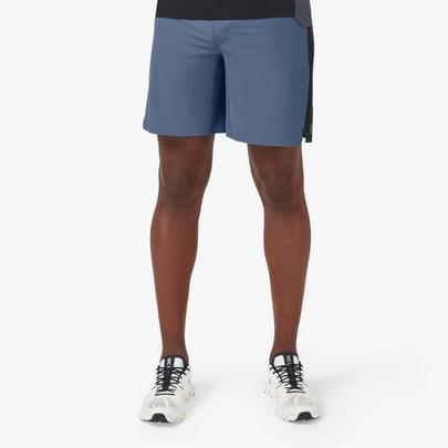 On Men's Lightweight Shorts - Cerulean / Black
