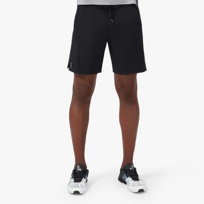 On Men's Hybrid Shorts  - Black