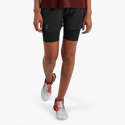 On Women's Active Shorts - Black