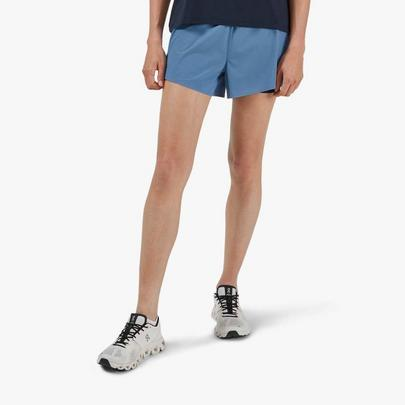 On Women's Running Shorts - Blue