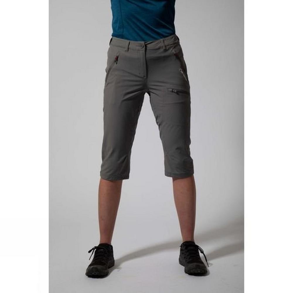 Montane Pants Women's Dyno Stretch Capri Mercury/Saskatoon Berry