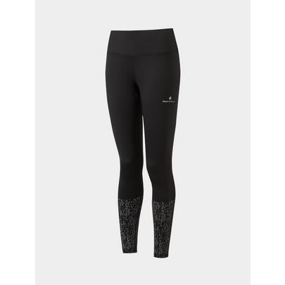 Ron Hill Women's Life Nightrunner Tight - Black/Reflective