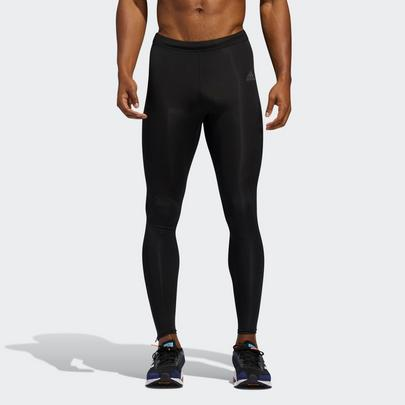 Adidas Men's Own The Run Long Leggings - Black