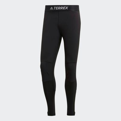 Adidas Men's Agravic Trail Running Tights - Black