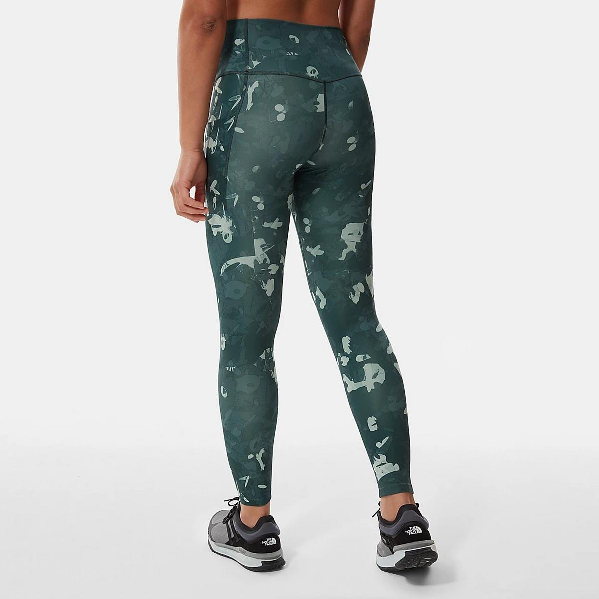 The North Face Women's Printed Motivation 7/8 Leggings - Green