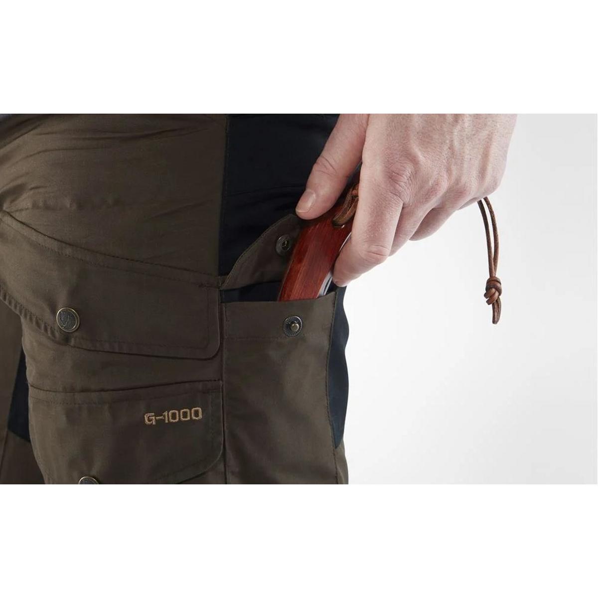 Fjallraven Pants Men's Vidda Pro REGULAR Leg Trousers Dark Olive