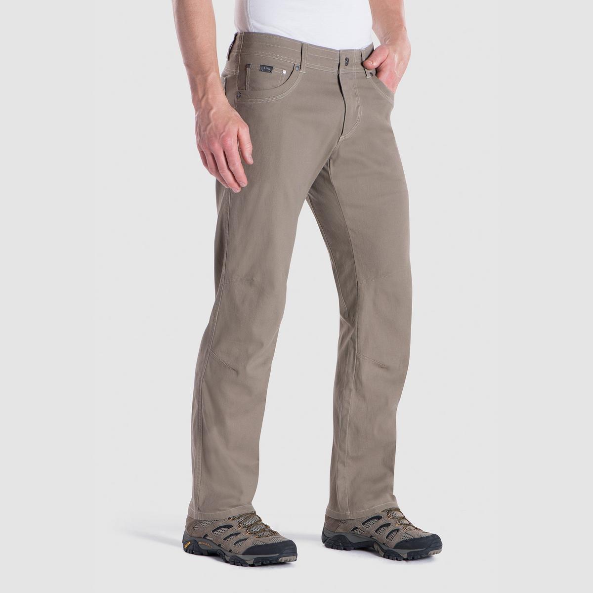 Kuhl Men's Kanvus Jean, Short- Khaki