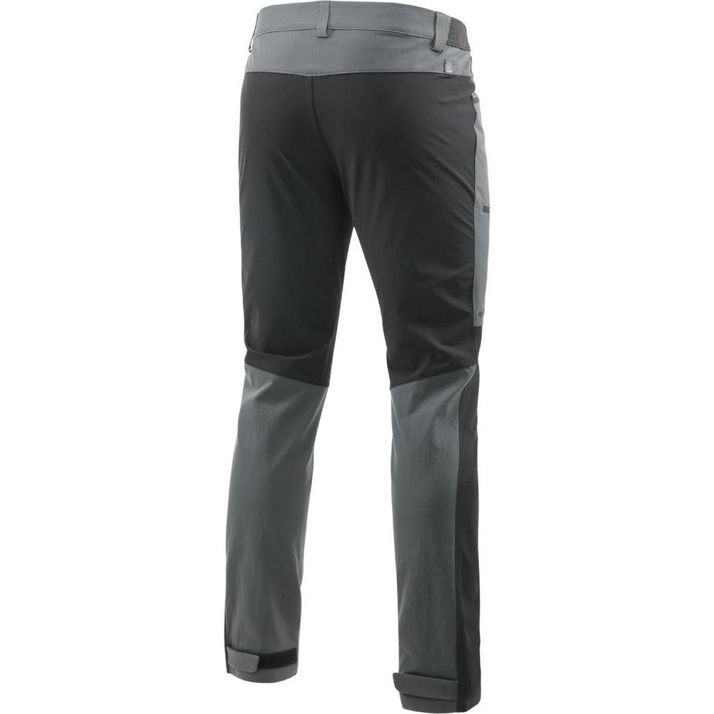Haglofs Pants Men's Rugged Flex REGULAR Leg Trousers Magnetite/Black