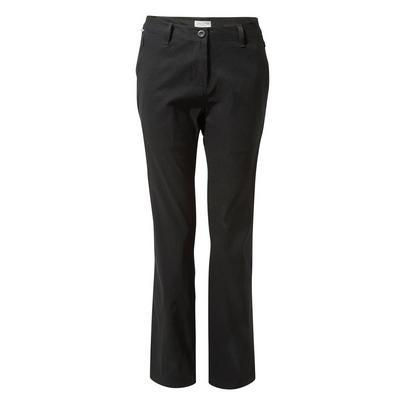Craghoppers Women's Kiwi Pro Trouser Short Length - Black