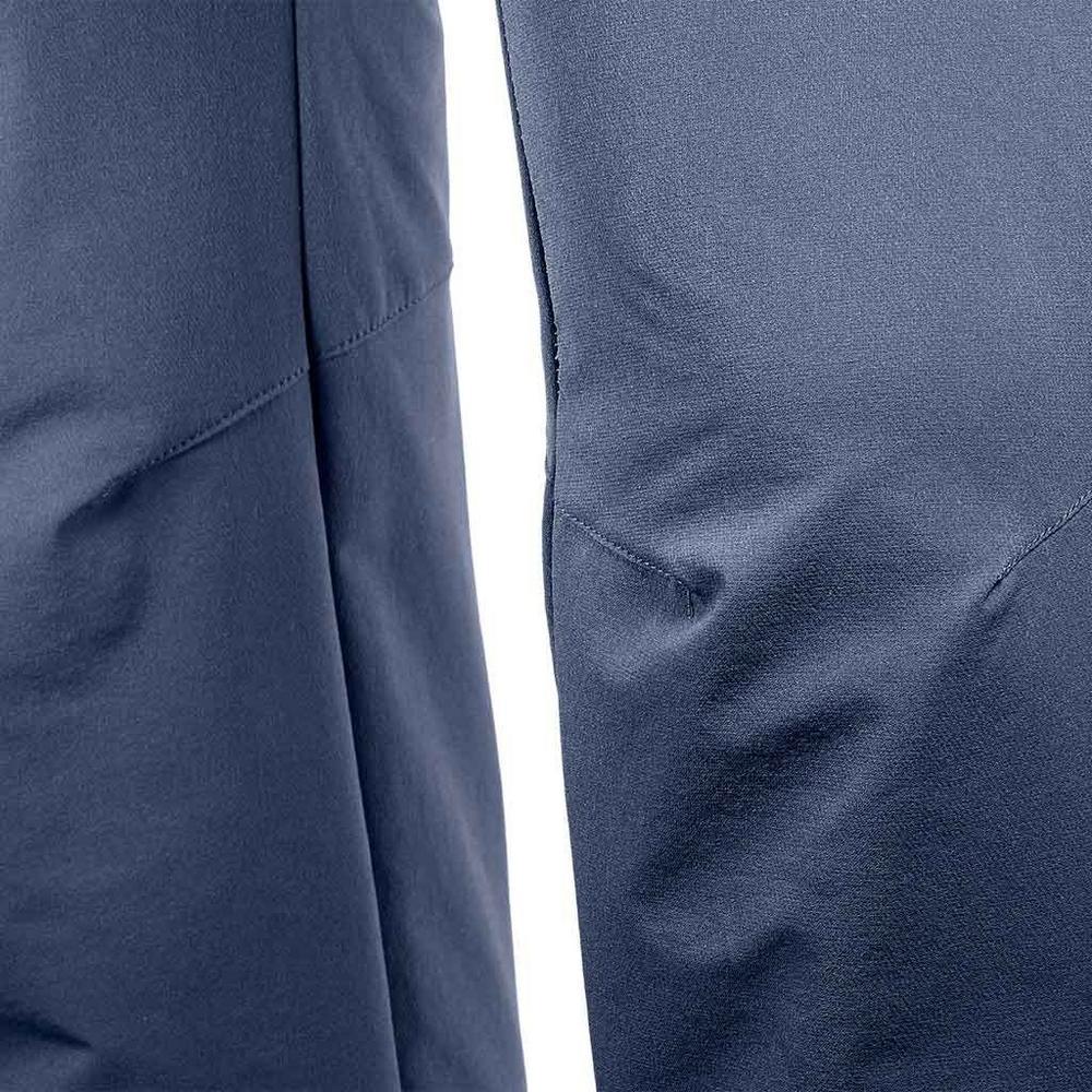 Salomon Pants Men's Wayfarer Warm Straight REGULAR Leg Trousers Night Sky