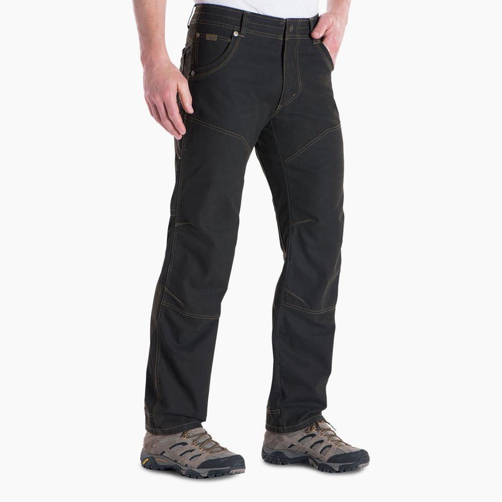 Kuhl Pants Men's The Law LONG Leg Trousers Espresso