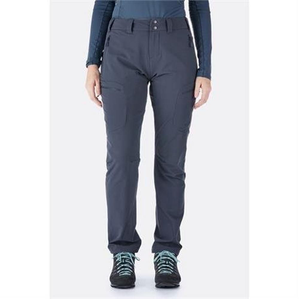 Rab Pants Women's Sawtooth LONG Leg Trousers Beluga