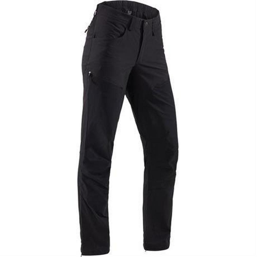 Haglofs Pant Women's Mid II Flex REGULAR Leg Trousers True Black Solid