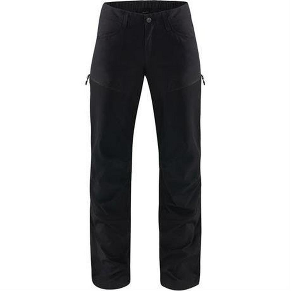 Haglofs Pant Women's Mid II Flex LONG Leg Trousers True Black Solid