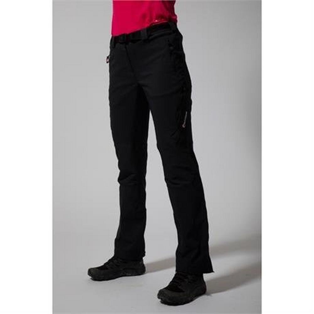 Montane Pants Women's Terra Ridge LONG Leg Trousers Black
