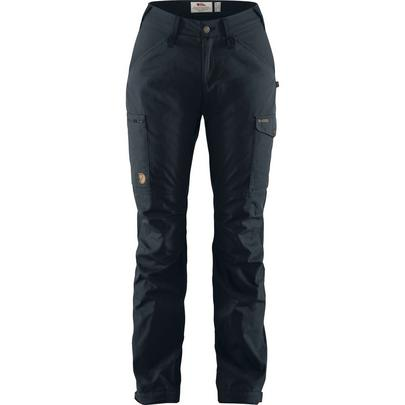 Fjallraven Women's Kaipak Trousers Curved - Navy