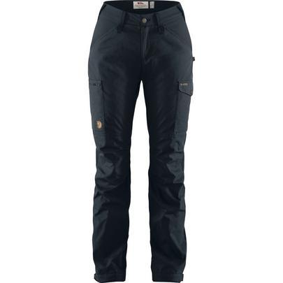 Fjallraven Women's Kaipak Trousers Curved - Navy