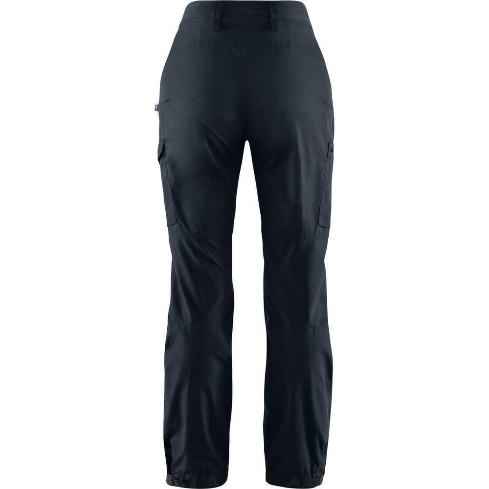 Fjallraven Women's Kaipak Trouser Curved - Navy