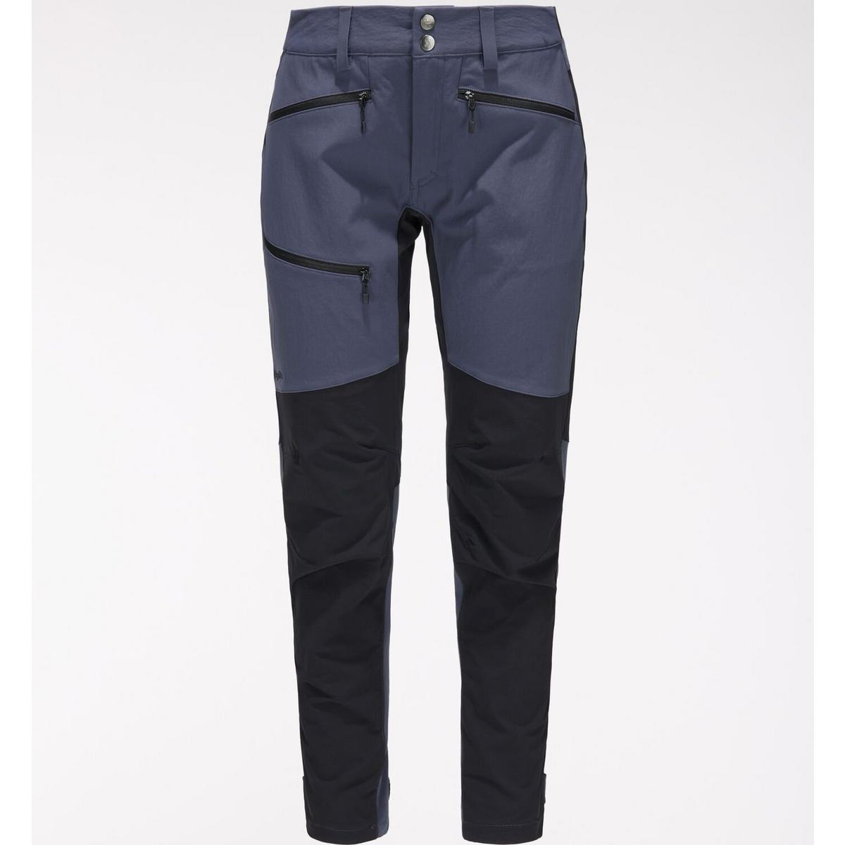 Haglofs Women's Rugged Flex Pant Regular- Dense Blue/ True Black