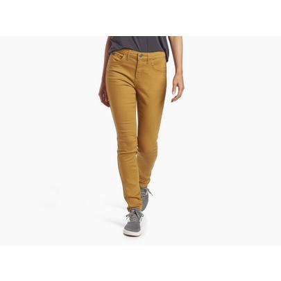 Kuhl Women's Contour Skinny Pant (Reg) - Harvest Yellow