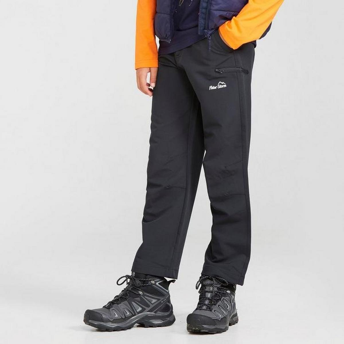 Peter Storm Kid's Terrain Trouser - Black
