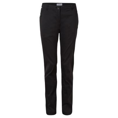 Craghoppers Women's Kiwi Pro Stretch Trousers (Reg) - Black