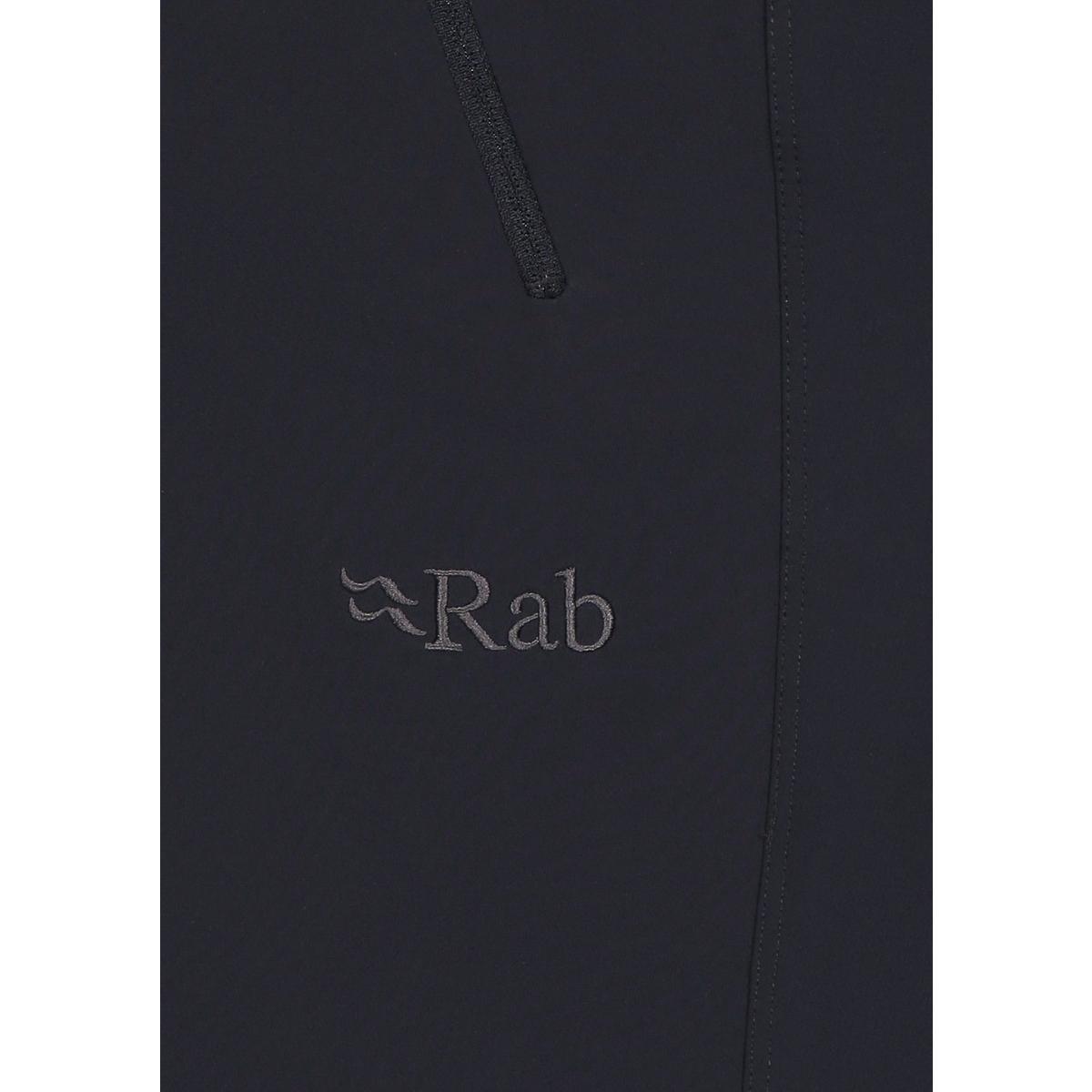 Rab Men's Incline AS Pant Regular - Ebony