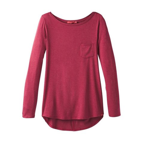 b74aa0ae7 Red Prana Women s Foundation Long Sleeve Tunic ...