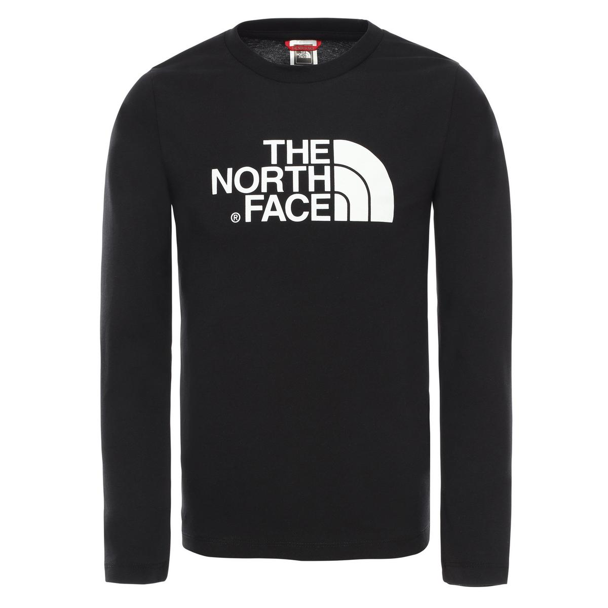 The North Face Kids' Easy Long Sleeve T-Shirt - Black