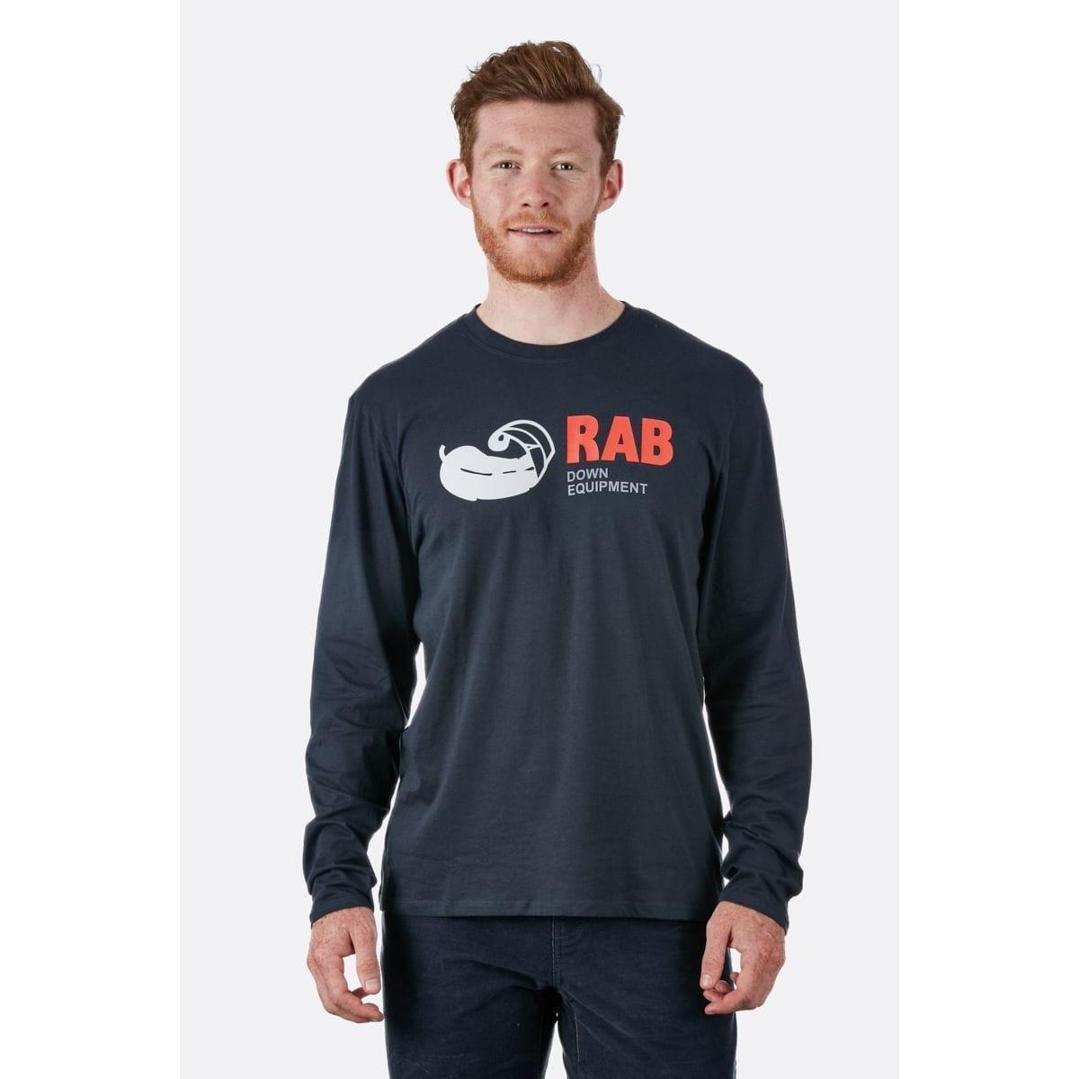 Rab Men's Rab Stance Vintage LS Tee - Grey
