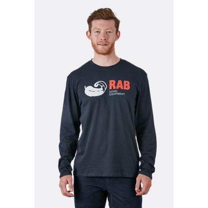 Rab Men's Stance Vintage L/S Tee - Beluga