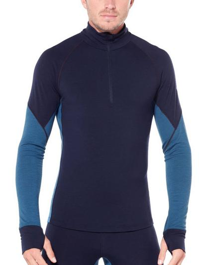 Icebreaker Men's BodyFitZone 260 Zone Long Sleeve Half Zip