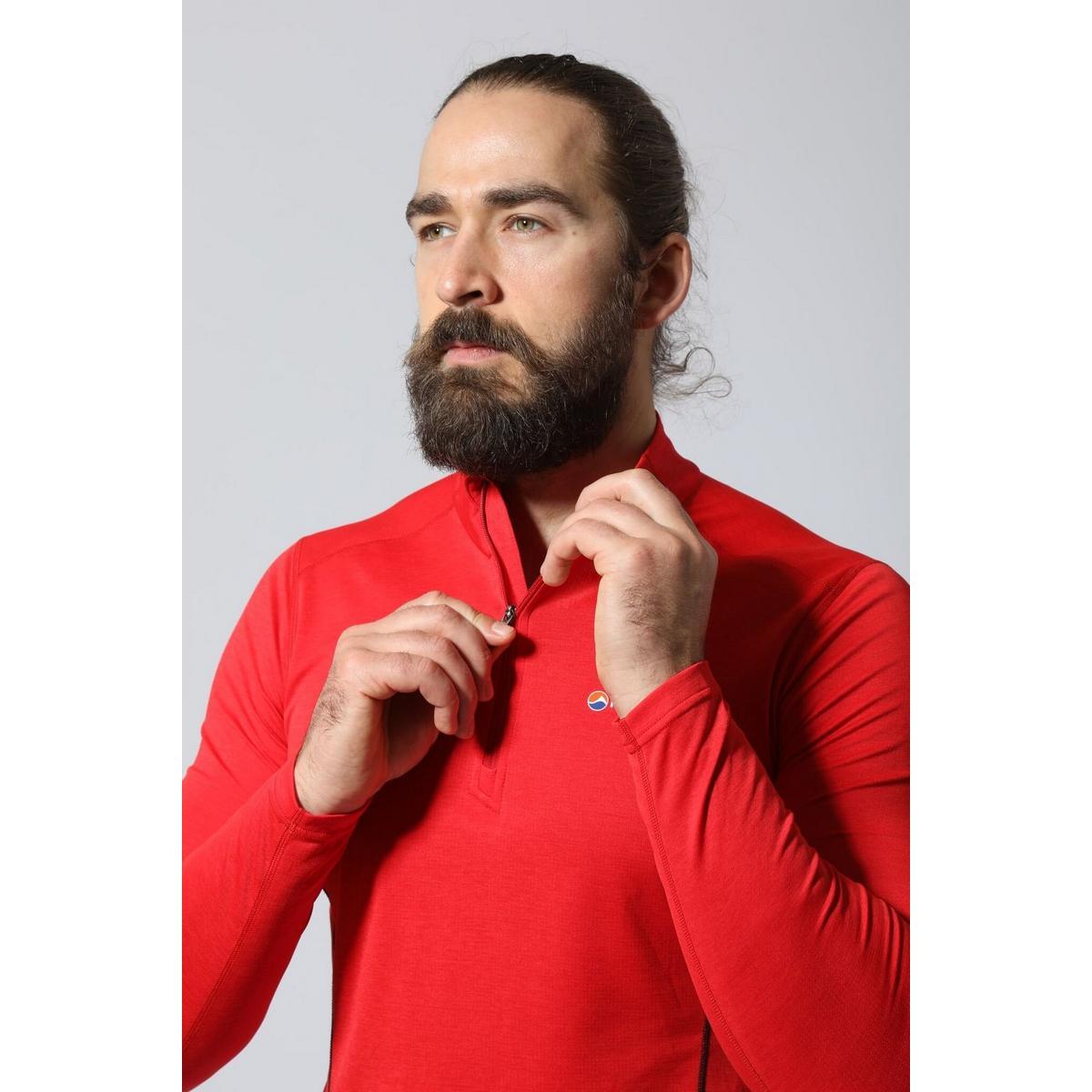 Montane Men's Montane Dart Zip Neck - Grey